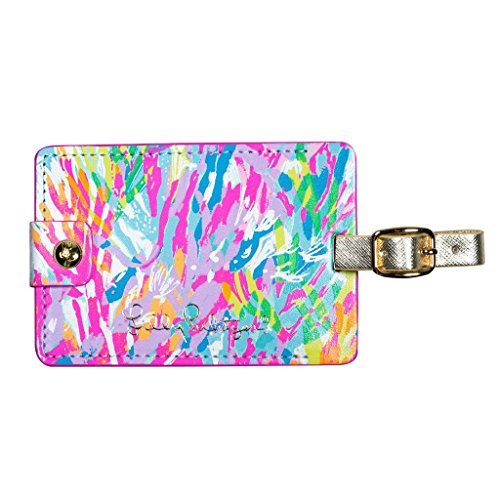 Luggage Tag Pattern (Lilly Pulitzer Girls Luggage Tag, Sparkling Sands, One Size)