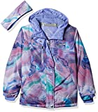 ZeroXposur Girls' Big Amellia Snowboard Jacket, Mauve, X Large