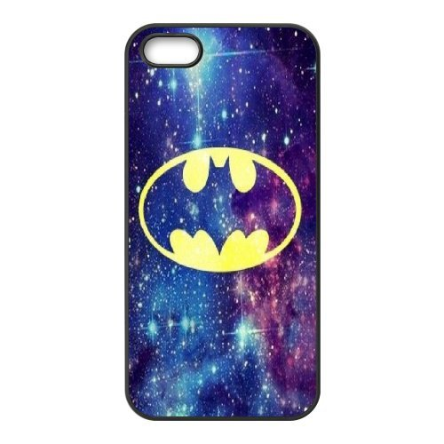 Batman Phone Case And One Free Tempered-Glass Screen Protector For iPhone 5,5S T178063