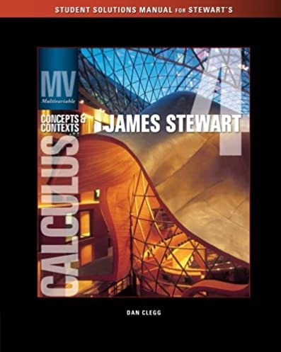 solutions manual chapters 9 13 for stewart s multivariable rh amazon com Physics Solutions Manual Engineering Solutions Manual
