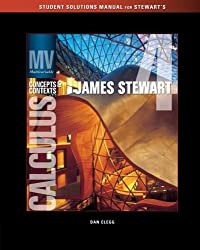 Student Solutions Manual (Chapters 8-13) for Stewart's Multivariable Calculus: Concepts and Contexts, 4th