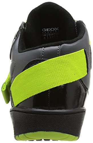 Geox Oracle - Zapatillas Niños Dark Grey/Limec 1267