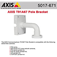 5017-671 POLE BRACKET F/ AXIS Q6032-E AXIS Communications Surveillance Housing Bracket / Mount