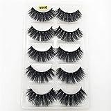 Best Unbranded* Fake Eyelashes - FidgetFidget 5 Pairs Pack Mink False Eyelashes Bushy Review