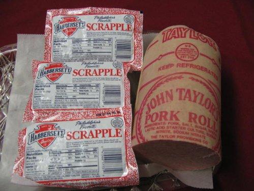 Habbersett Scrapple / Taylor Pork Roll Combo Pack