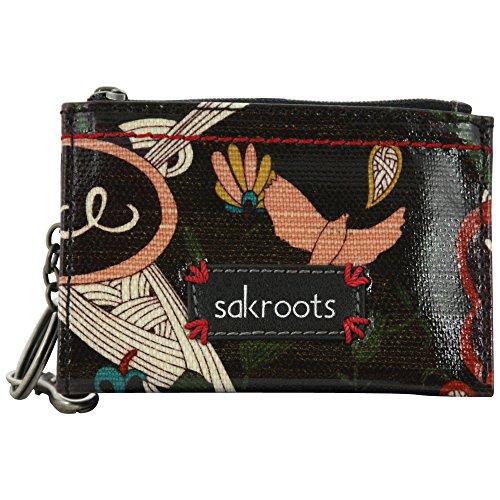sakroots-id-keychain-black-peace