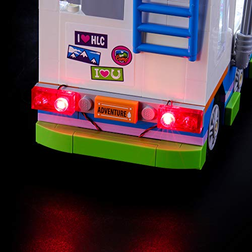 BRIKSMAX Led Lighting Kit for Friends Mia's Camper Van - Compatible with Lego 41339 Building Blocks Model- Not Include The Lego Set