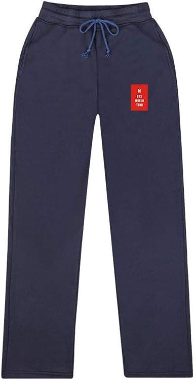 Memoryee BTS Love Yourself Pantalones de chándal Estampados para ...