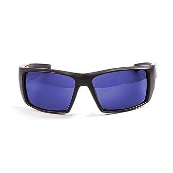Ocean Sunglasses Aruba – gafas de sol polarizadas – Montura: Negro mate – Lentes: