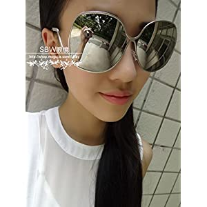 Generic 2014 New_Box_cool_color_reflective_Metal_ sunglasses