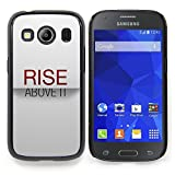 All Phone Most Case / Special Offer Smart Phone Hard Case Cool Image PC Skin Cover Protective Case for Samsung Galaxy Ace Style LTE/ G357 // Rise Above It Minimalist Text Stylish Red