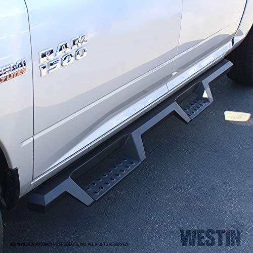Westin Nerf Bars Dodge Ram - Westin Automotive Products 56-13565 Textured Black HDX Drop Step