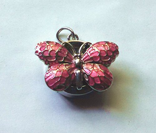 Watch Red Butterfly Key-chain