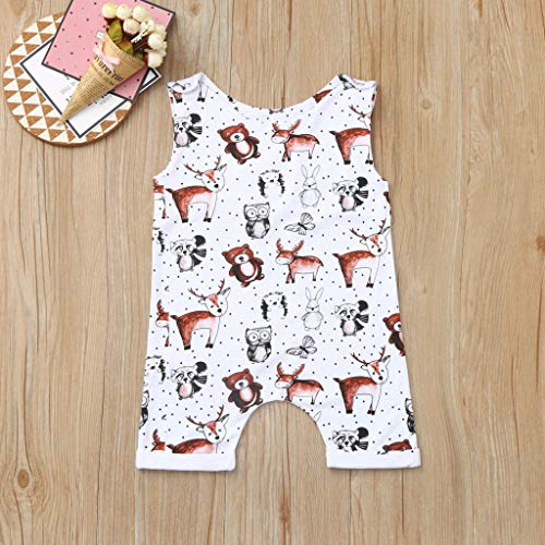 Toddler Baby Girl/¡/¯s Rompers Sleeveless Cotton Onesie I Love Basketball Print Outfit Stylish Jumpsuit Summer Pajamas Bodysuit