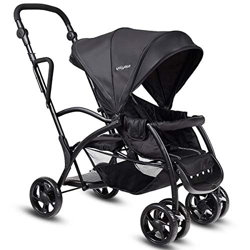HONEY JOY Stand and Ride Stroller, Stand On Tandem...