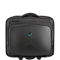 The new Alienware Vindicator Rolling Case is the perfect choice for the traveling gamer. The Vindicator Rolling Laptop Case offers four separate storage sections for all of the gear you need for your daily commute or an overnight trip. This f...