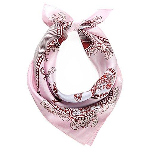 primavera mujer peque bufanda la a Toda seda de para cuadrada patr 5 w7EOqZW