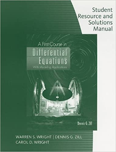 Differential Equations By Zill 3rd Edition Solution Manual Pdf