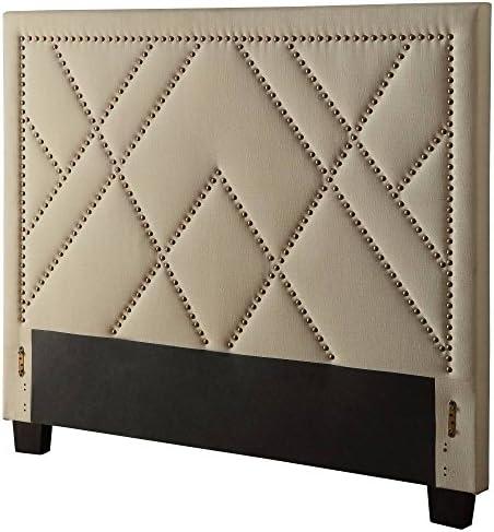 Modus Furniture Vienne Nailhead Patterned Headboard