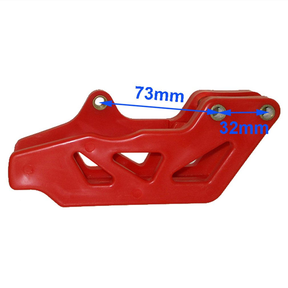 TC-Motor Chain Guide Swing Arm Guard Protector For Honda CRF250 X 2007-2017/Honda CRF450 X 2008-2017 by TC-Motor (Image #3)