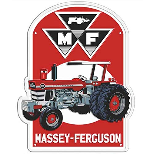 AGCO Massey Ferguson Vintage Metal Tacker Sign 03948S