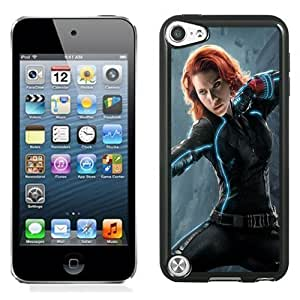 New Personalized Custom Designed For iPod Touch 5th Phone Case For Avengers Age of Ultron Black Widow 640x1136 Phone Case Cover