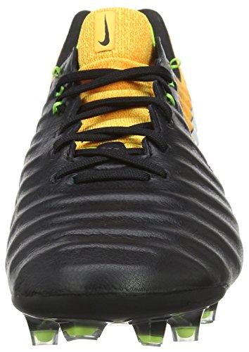 Nike Herren Tiempo Legend Vii Fg Fußballschuhe Schwarz (Black/White-Laser Orange-Volt-Black)