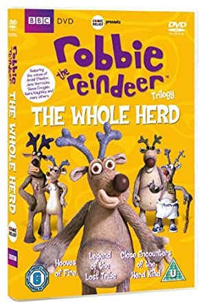 Robbie The Reindeer Triology: The Whole Herd [DVD]
