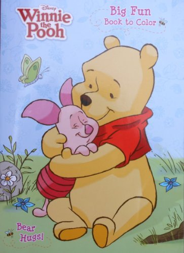 Disney Winnie the Pooh Coloring and Activity Book ~ Bear Hugs (2011; 96 Pages)