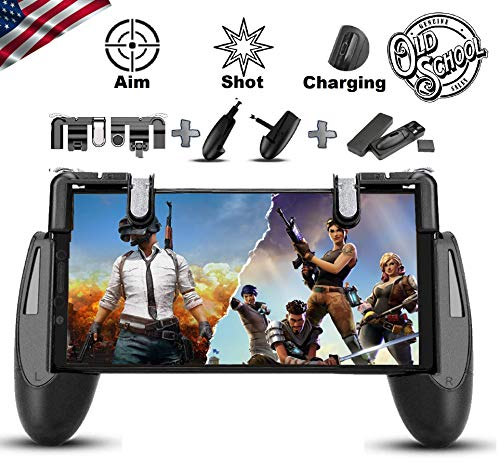 SEMSA PUBG Mobile Game Controller - [New Version] Cell Phone Gaming Joystick Accessories, Gamepad,...