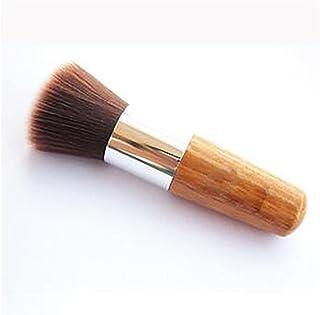 GUO Manche de la brosse blush batt fibre de bois rond maquillage outil pratique Brosses