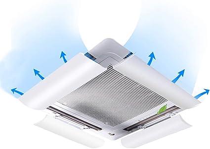 Oficina Anti-Directo Blowing Deflector del Parabrisas para Dormitorio Aire acondicionado deflector de viento Central de Aire Acondicionado Deflector Sala de Estar