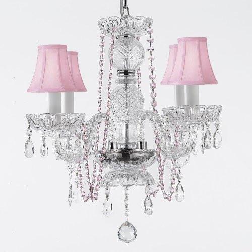 Amazon.com: Crystal Chandelier Lámparas de araña iluminación ...