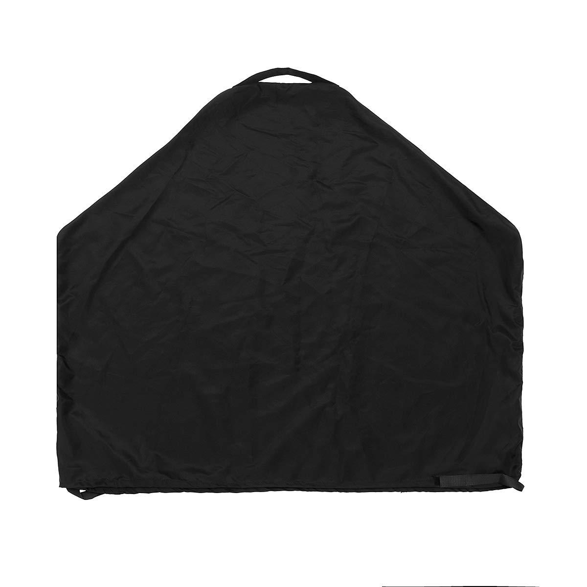 ExcLent Cubierta De Caldera Impermeable Negra Parrilla De Carbón De Gas Protector De Bolsa De Almacenamiento De Protección Al Aire Libre