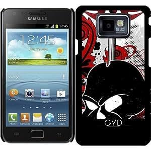Funda para Samsung Galaxy S2 (GT-I9100) - Cráneo Con La Espada by nicky2342