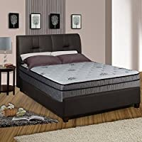 Continental Sleep Fifth Ave Collection, Fully Assembled  13 Soft Euro Top Orthopedic Queen Mattress