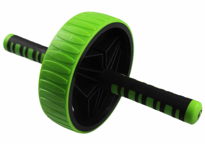 #DoYourFitness AB-Roller/Bauchtrainer / Bauch Roller »TheBodyWheel« / Ideal für Schulter-, Rücken- und Bauchmuskeltraining/zerlegbar, Farbe grün Farbe grün #doyoursports GmbH 4251100665668