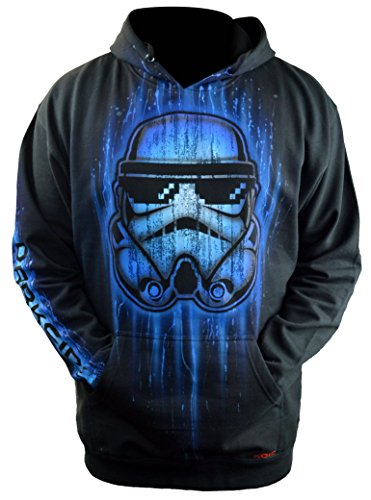 Sid Vicious Star Wars Stormtrooper Hoodie Custom Airbrushed Add Your Name Adult XXXL