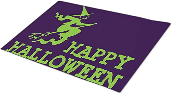 Rio-radio Pumpkin Monogrammed Door Mat Witch Funny Doormats