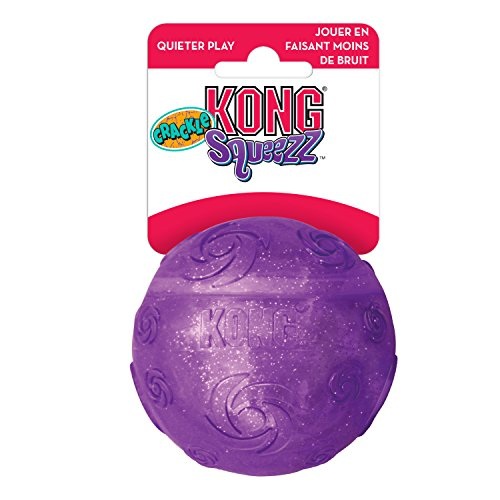 KONG Squeezz Crackle Ball, Large