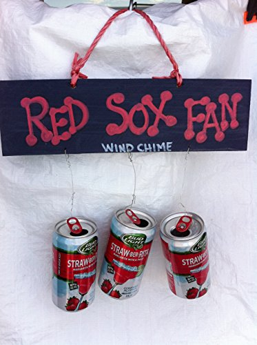 Red Sox Fan Beer Can Wind Chime (Sox Beer)