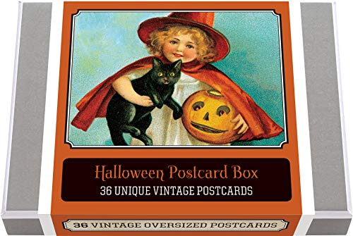 Halloween Postcard Box - 36 Unique Vintage Postcards: Halloween Boxed Postcard Set (Greeting Cards)]()