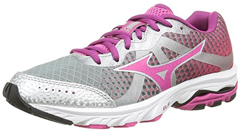 Zapatillas 36 Wos 6 5 us Morado Mizuno Eu Running Wave Elevation 5 plata De dC7dXwqz