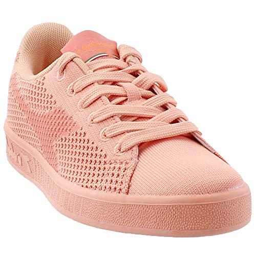 Diadora Womens Weave Athletic & Sneakers Pink
