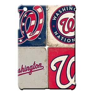 iPad Mini 1 / Mini 2 Retina / Mini 3 Attractive Eco-friendly Packaging Snap On Hard Cases Covers Ipad back case Washington Nationals MLB baseball logo