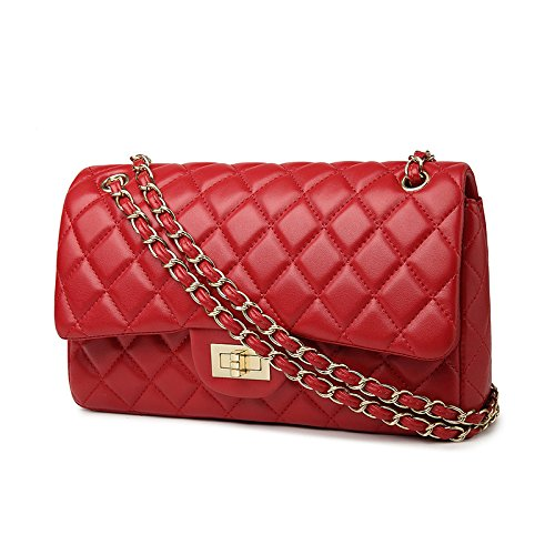 Bags 2018 Redpugoldchain Baby Ladies Shoulder 28x16x8cm Shoulder Lingge Handbags Fashion Chain Mini Bag Bags Tote H0Hwrq