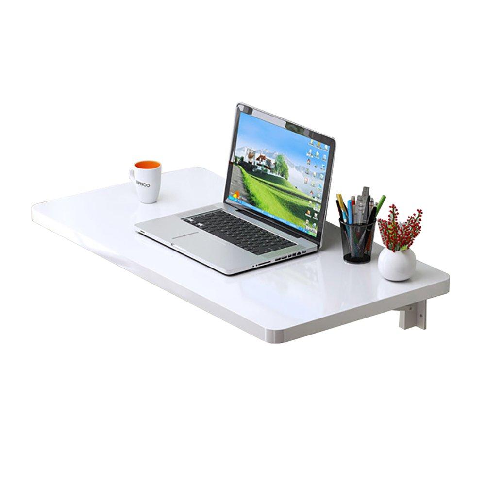 últimos estilos 110×40cm LXLA- Escritorio Plegable de Parojo Mesa de de de informática blancoa Estudio de suspensión de Parojo Estación de Trabajo Cocina Dinding Organizador Doblar hacia Abajo (Tamaño   110×40cm)  mejor oferta