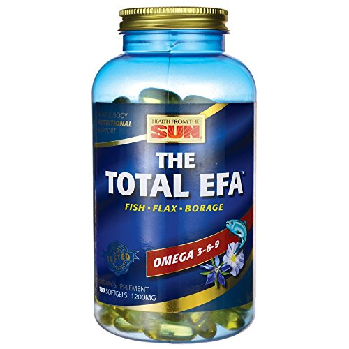 Health from The Sun The Total EFA, 180 Softgels