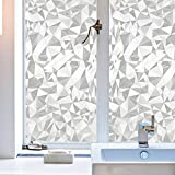Best Home Fashion Window Films - Amposei Fashion Light Refraction Frosted Window Glass Film Review