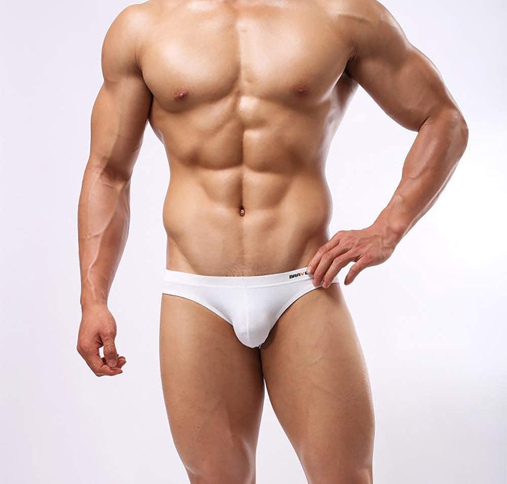 Swbreety Mens Bikini Briefs Low Rise Breathable Low Waist Swim Underwear Multi Pack